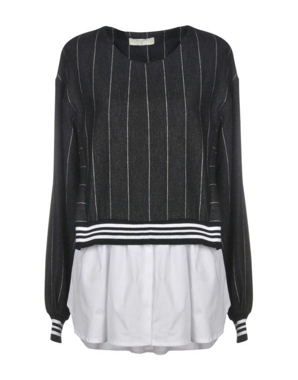 Свитшот с имитацией блузы-рубашки Beatrice B