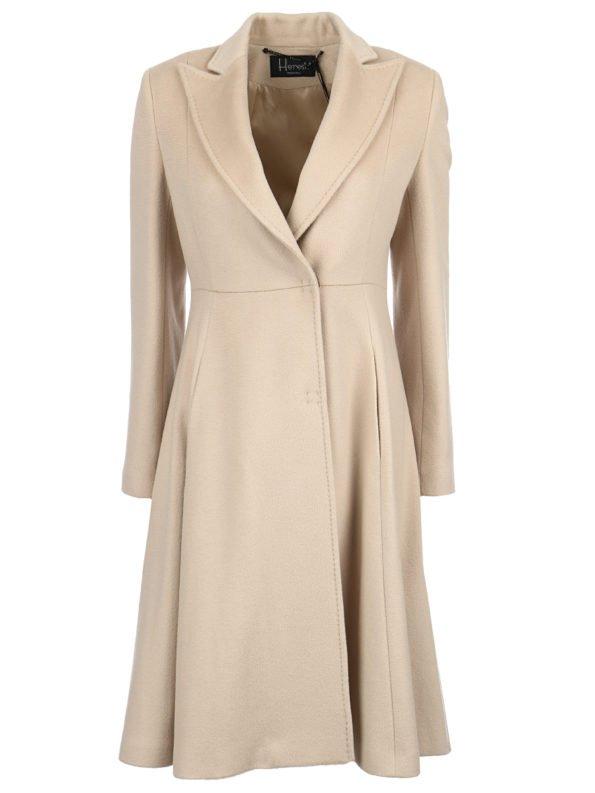 Пальто приталенное классика