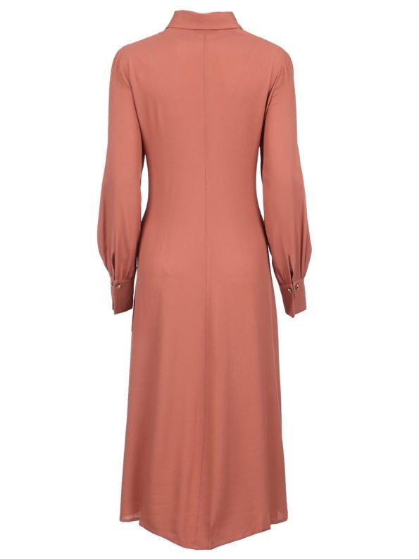 Платье с имитацией корсета