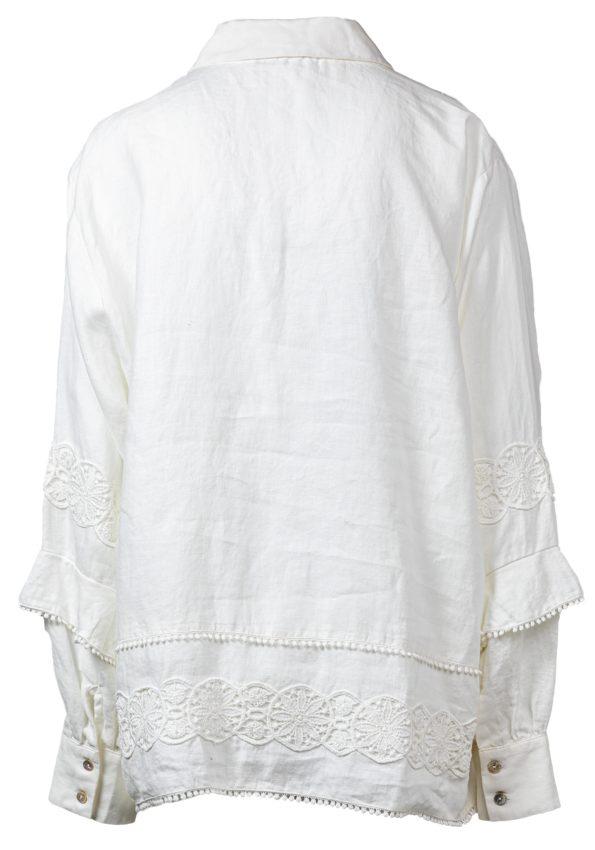 Туника с шитьем