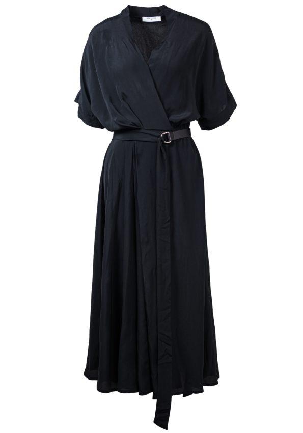 Платье отрезное по талии с поясом