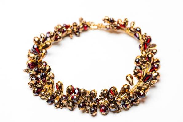 Ожерелье - коньячный венок