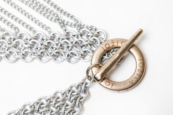 Ожерелье объёмное плетение