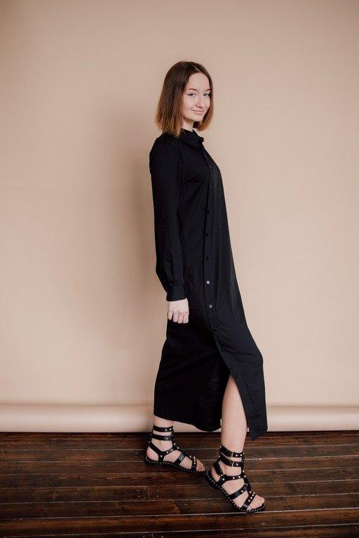 Платье рубашечного стиля
