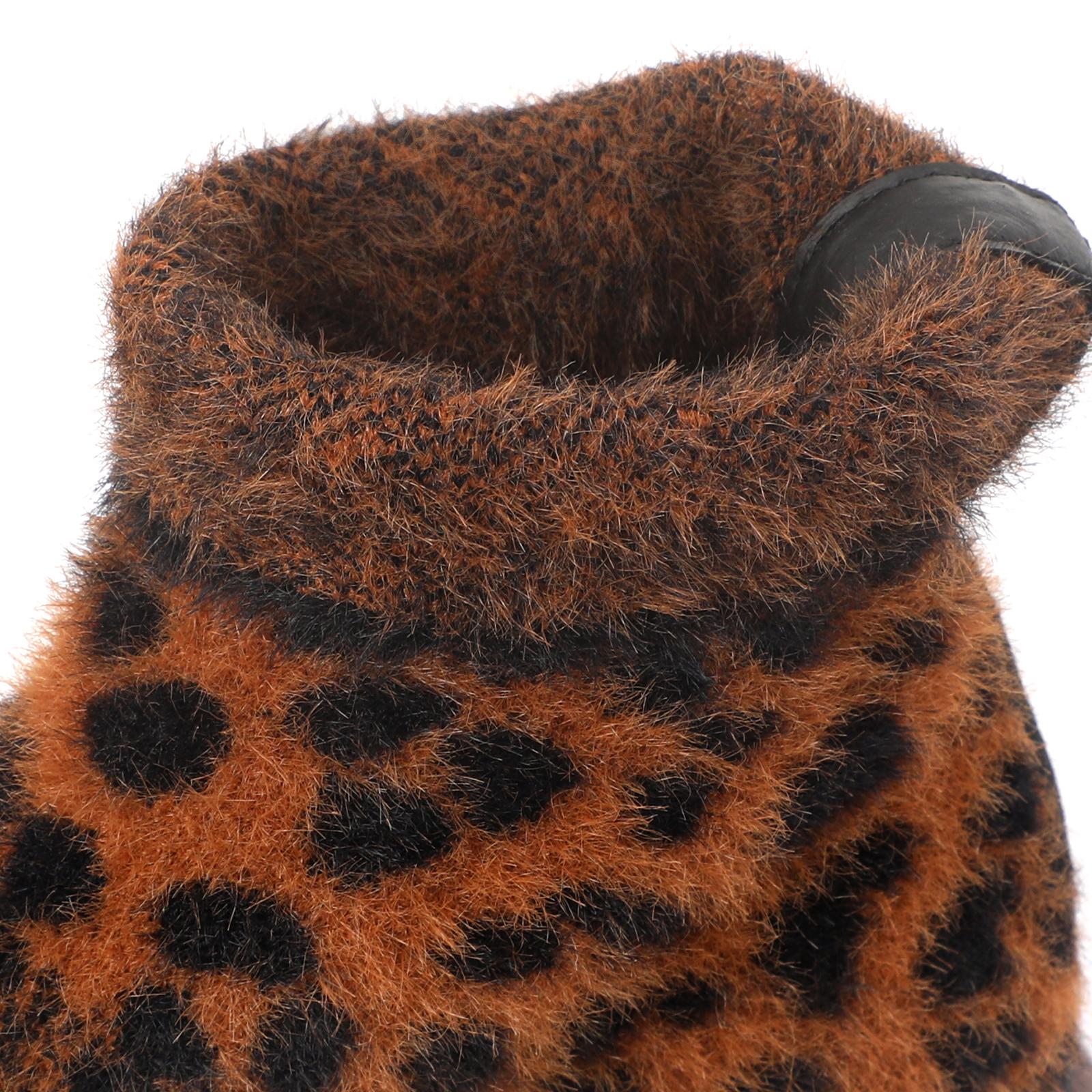 Леопардовые полусапоги ASH