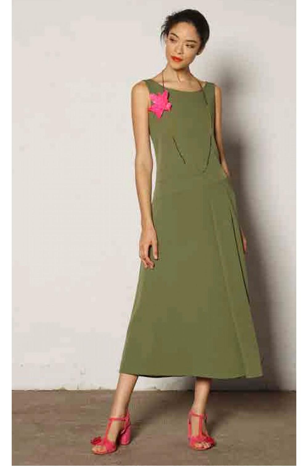 Платье без рукавов Niu