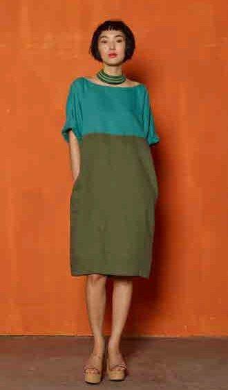 Платье-баллон Niu
