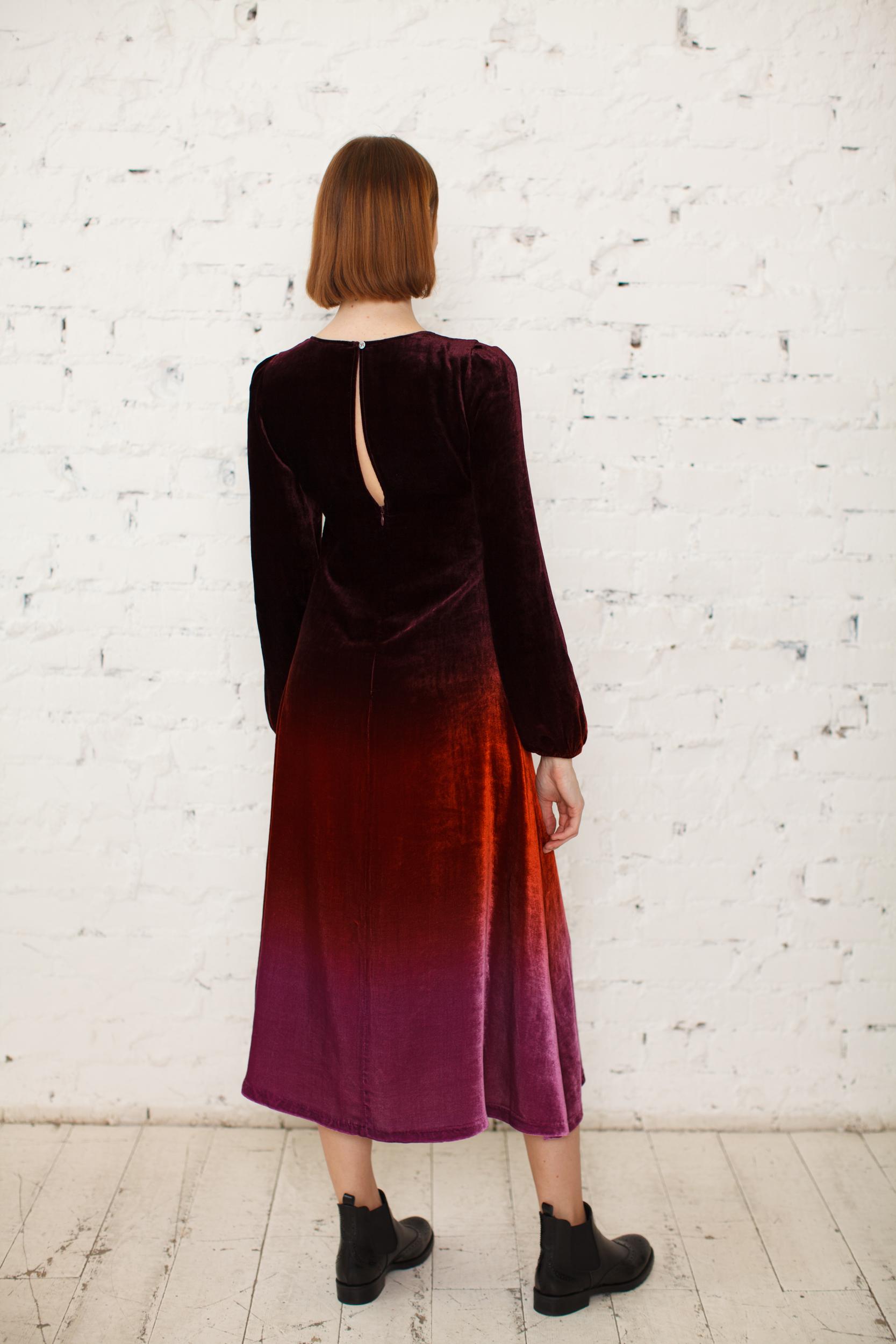 Платье бархат Beatrice B